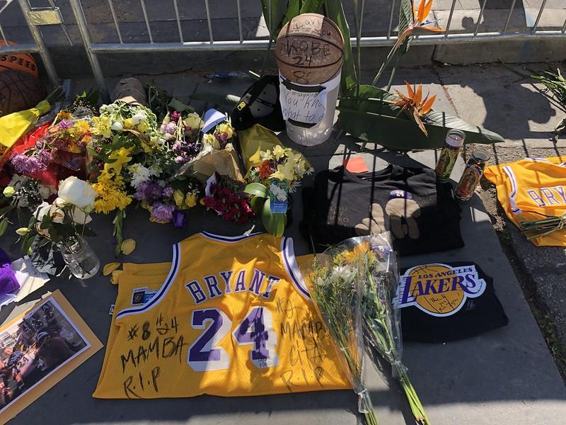 Kobe Bryant Fan Memorial