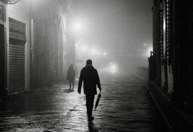 Passeggiando nella nebbia