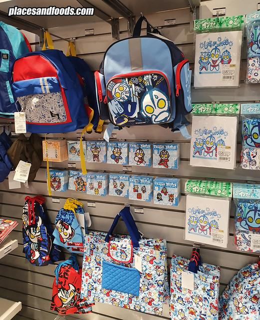 ultraman world shop tokyo station bags