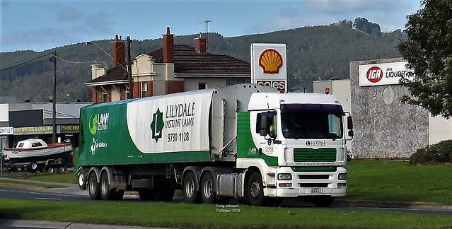 Lillydale Instant Lawn Man Diesel at Trafalgar