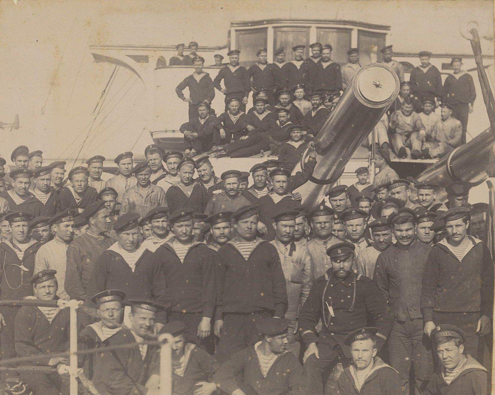 1901-1902. «Поход эскадренного броненосца «Пересвет» из Кронштадта на Дальний Восток». Часть 1