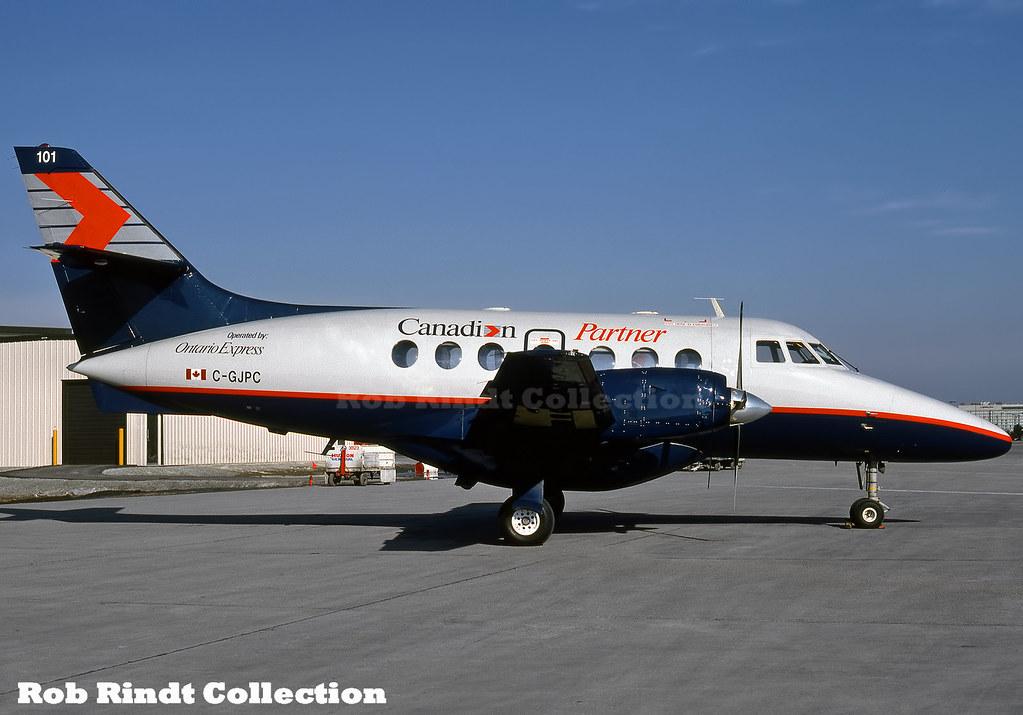 Canadian Airlines Partner (Ontario Express) Jetstream-31 C-GJPC
