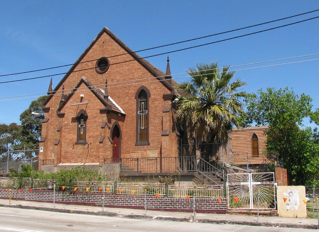 Former St Marys Church, Sydenham, Sydney, NSW.