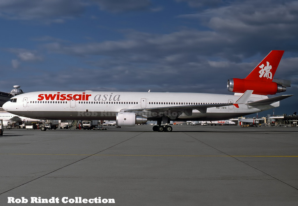 Swissair Asia MD-11 HB-IWN