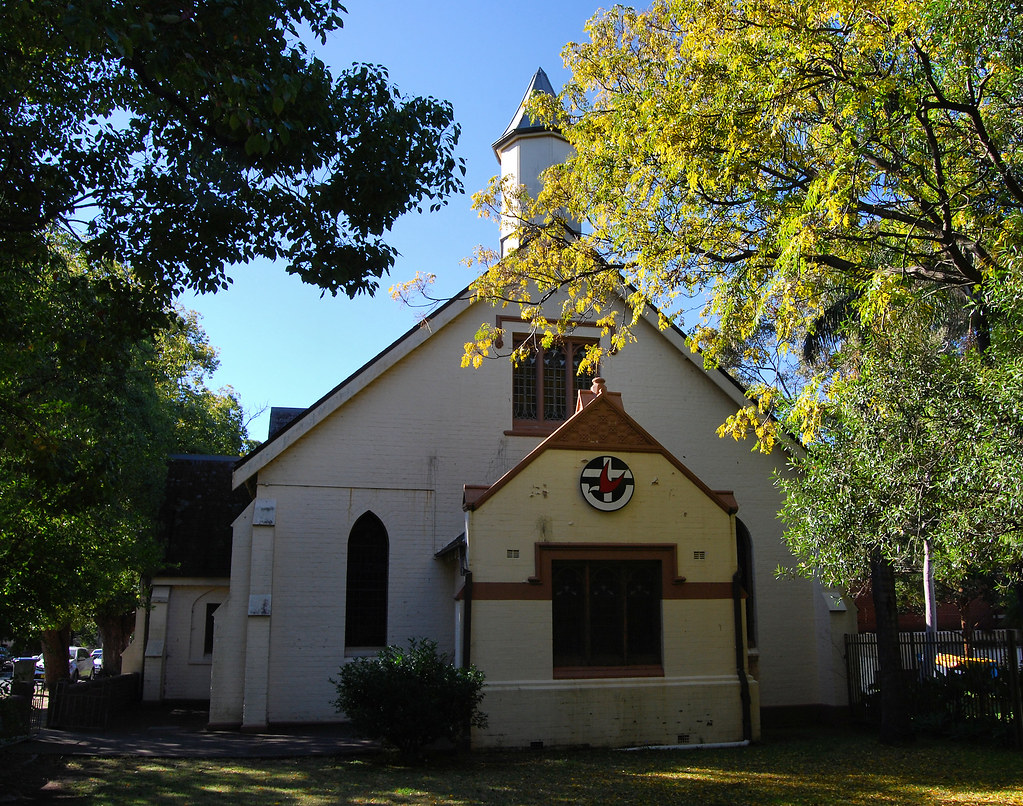 Homebush Uniting Church, Homebush, Sydney, NSW.