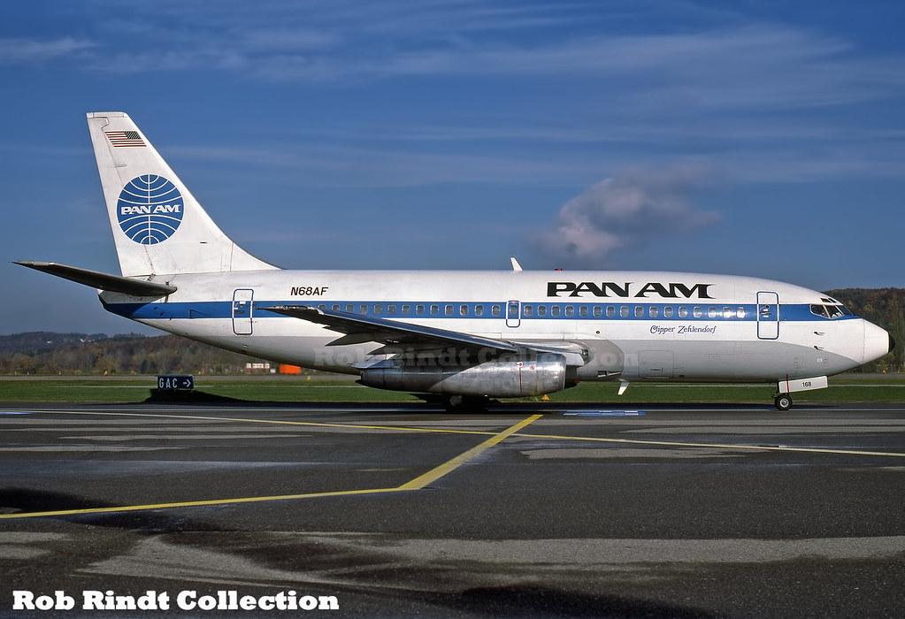 Pan American B737-222 N68AF