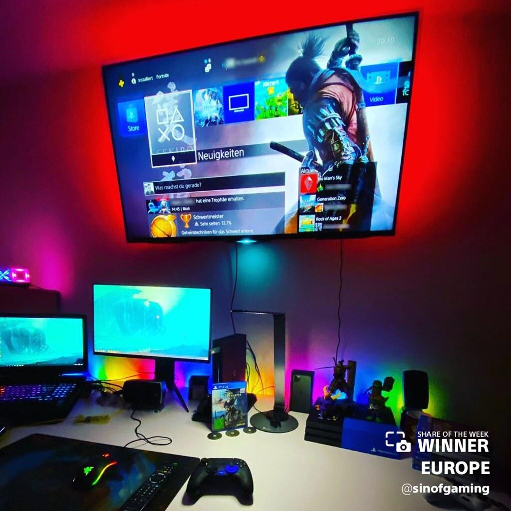 49458027678 6e7792bded b - PlayStation Fans auf der ganzen Welt zeigen ihr PS4 Set Up
