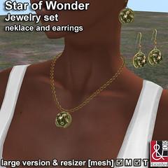 Star of Wonder Jewelry set