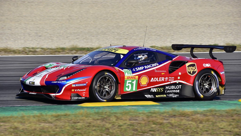Ferrari 488 GTE EVO / Alessandro Pier Guidi / ITA / AF CORSE