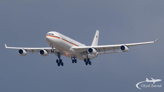 TLV - German Air Force Airbus A340-300 16+02