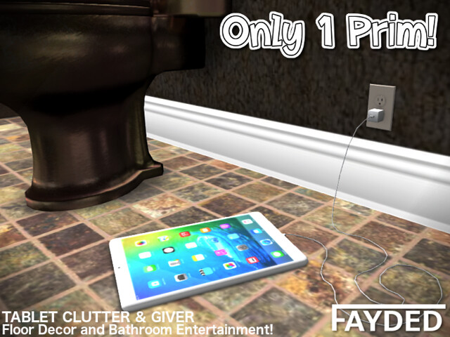 FAYDED – Tablet Clutter & Giver