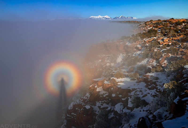 Needles Overlook Brocken Spectre
