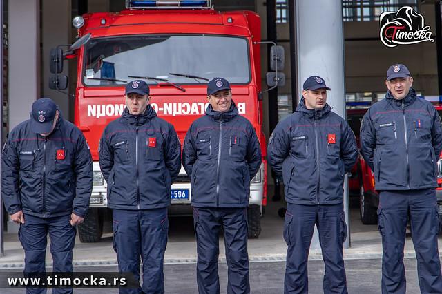 Otvaranje nove Vatrogasno-spasilačke jedinice u Zaječaru