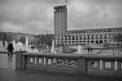 Le Havre, Place de l'Hôtel de ville, December 2017