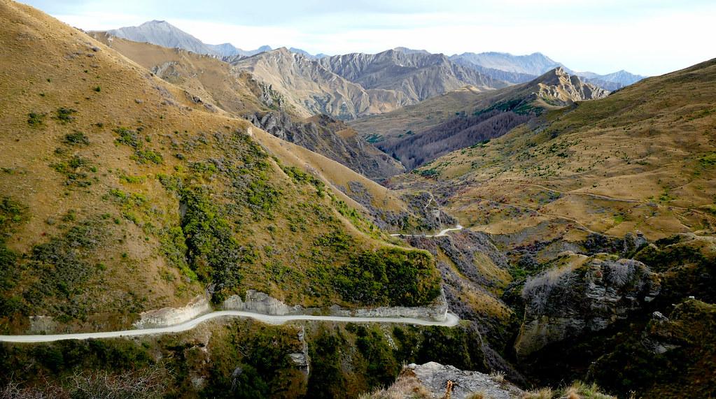 Skippers Road. Otago NZ.