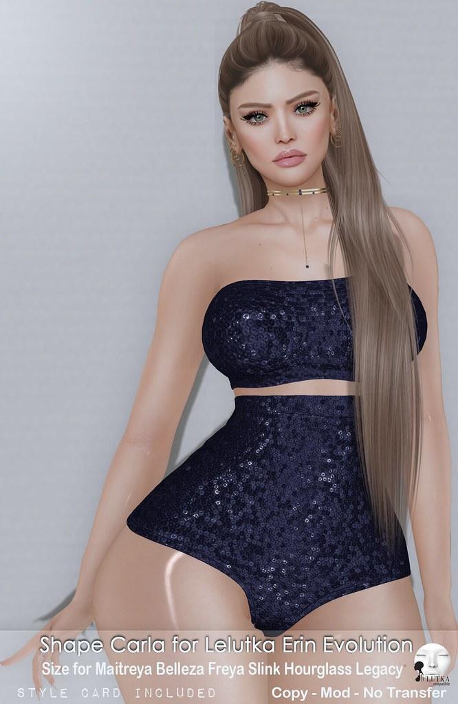 Malibu Shapes ::: Carla – Lelutka Erin Evolution
