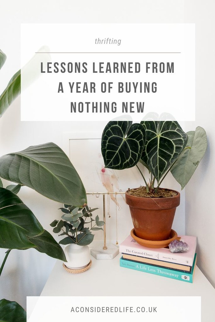 Lessons From A Year Of Shopping Second-Hand