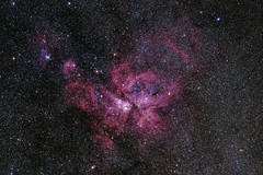 NGC3372 or Eta Carinae Nebula