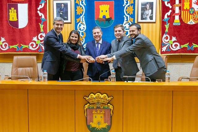 Firma de protocolo de colaboración con el Ayto. de Talavera para el desarrollo de suelo industrial