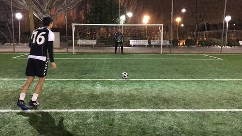 Gonzalo Gutiérrez no falla desde el punto de penalti