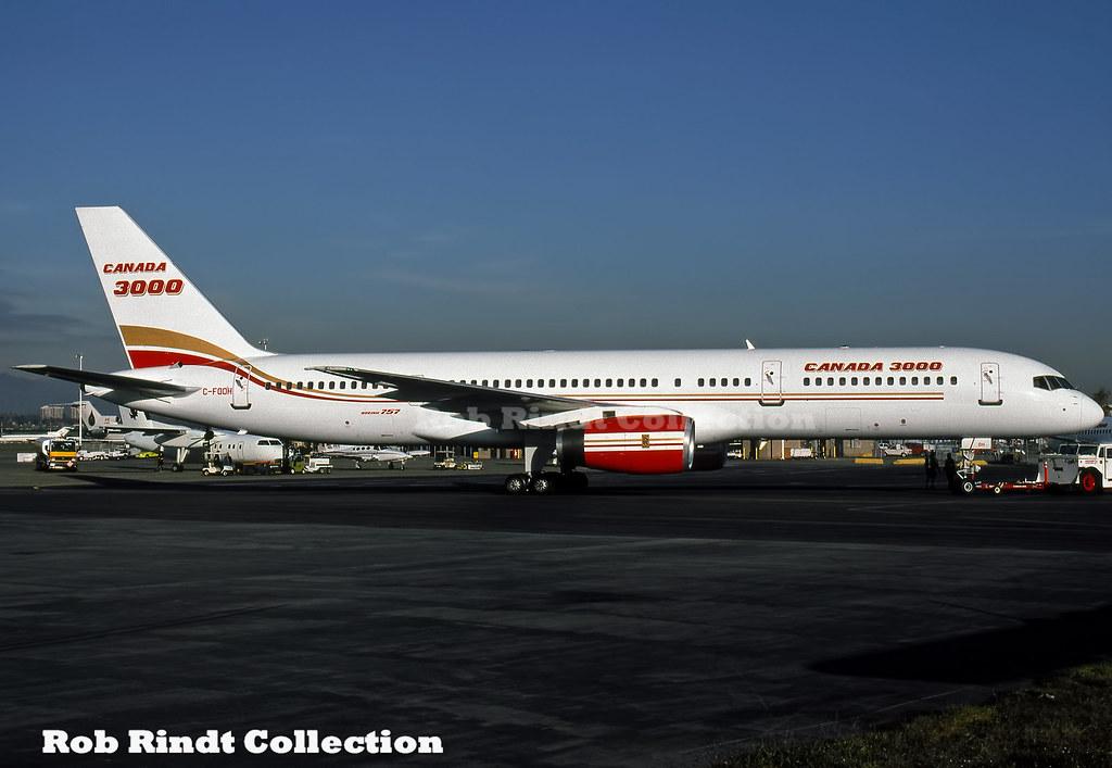 Canada 3000 B757-23A C-FOOH