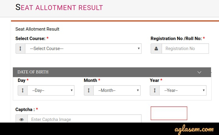 UP BTC Seat Allotment Resukt