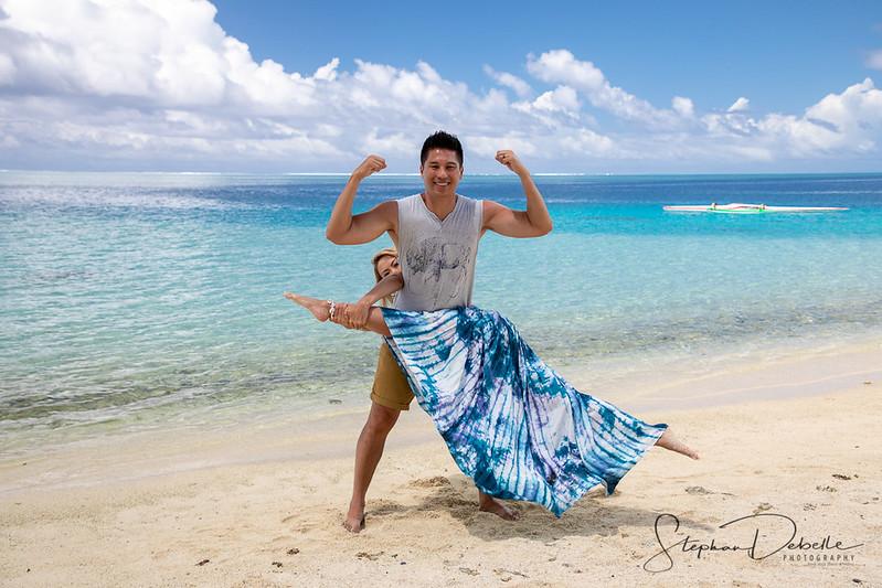 Linda & Loi - Bora Bora
