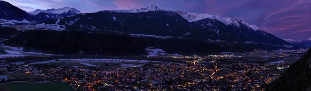 Inntal-Panorama bei Zirl, Tirol