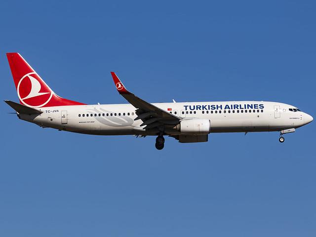 Turkish Airlines  Boeing 737-8F2 | TC-JVA