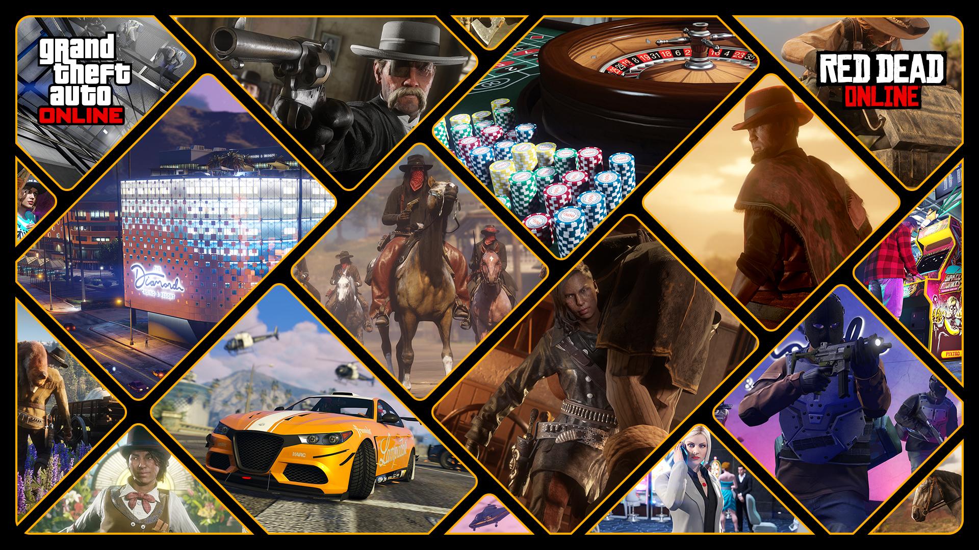 GTA Online_Red Dead Online _1 28 2020 Celebration_16x9