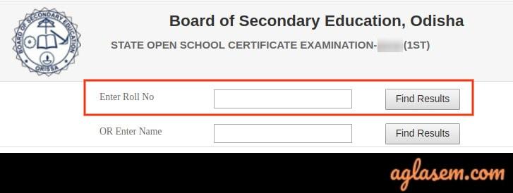 Odisha Open School Result 2020