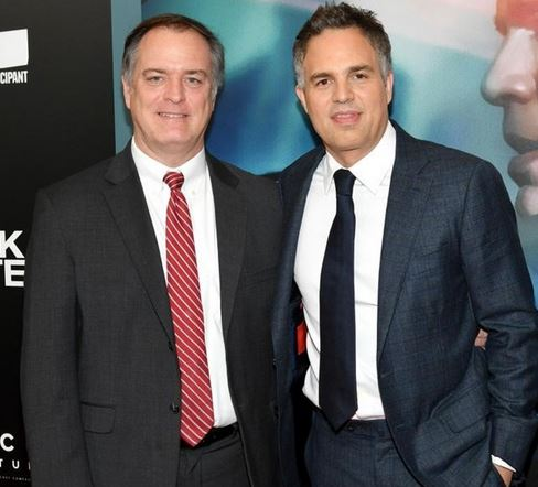 "Mark Ruffalo & Rob Bilott of the movie "" Dark Waters"" , Taipei, Taiwan, SJKen, Jan 31, 2020"