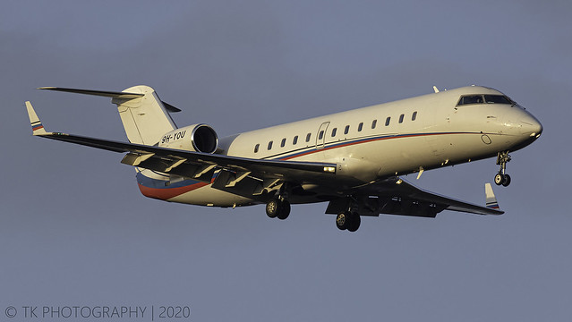 9H-YOU AIR X Charter Bombardier Challenger 850 (CL-600-2B19)
