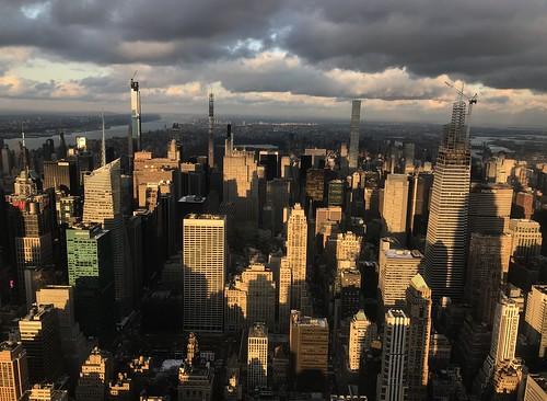 usa newyork urban clouds manhattan empirestatebuilding bigcity architecture flickriver flickrelite cityscape