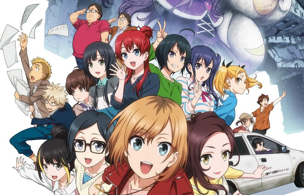 200129 – 雙馬尾學姊「矢野エリカ」回歸、劇場版《SHIROBAKO》公開正式預告片!也祝「佐倉綾音」生日快樂~