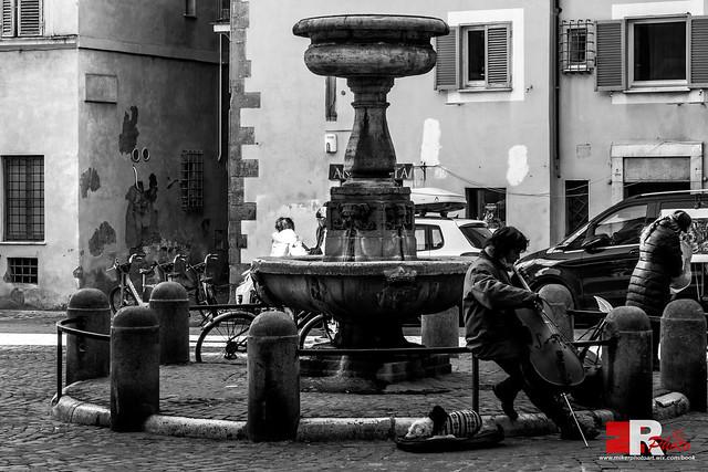 sunday morning, in Rome.