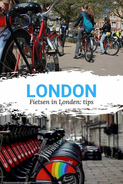 Fietsen in Londen | Leuk: ontdek Londen op de fiets, bekijk alle tips