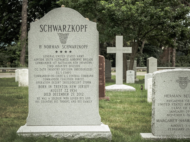 Norman Schwarzkopf, Jr. (1934-2012)