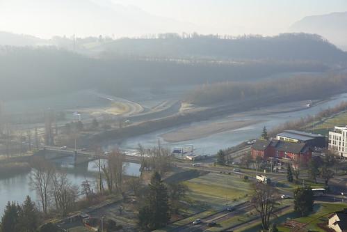 Isère river @ Fort de Montmélian @ Rocher de Montmélian