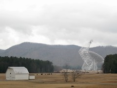 Barn and radio telescope