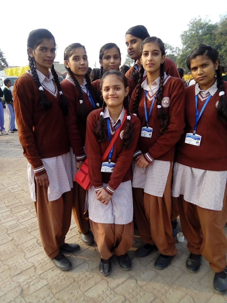 Schülerinnen der Light of Love-Schule