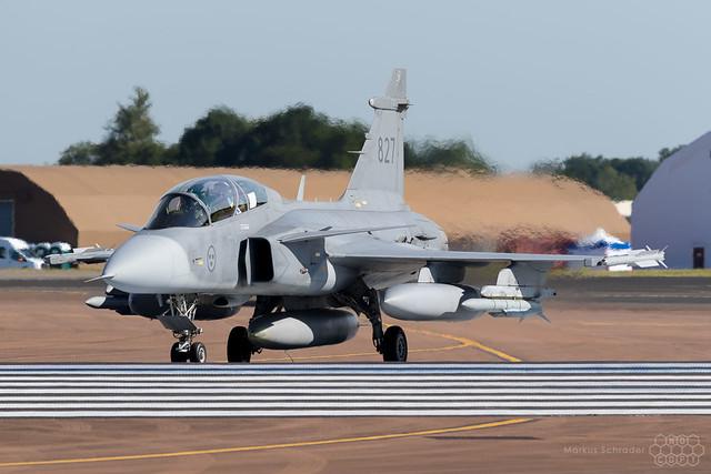 Saab Gripen 827 Swedish Air Force