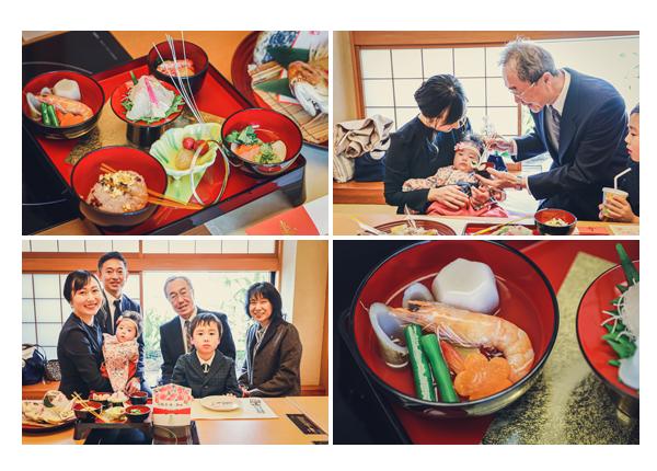 100日祝い お食い初め お料理 木曽路 愛知県名古屋市