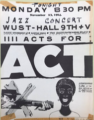 Jazz benefit for Julius Hobson's ACT: 1964