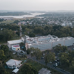 WHO in Brazzaville from the sky