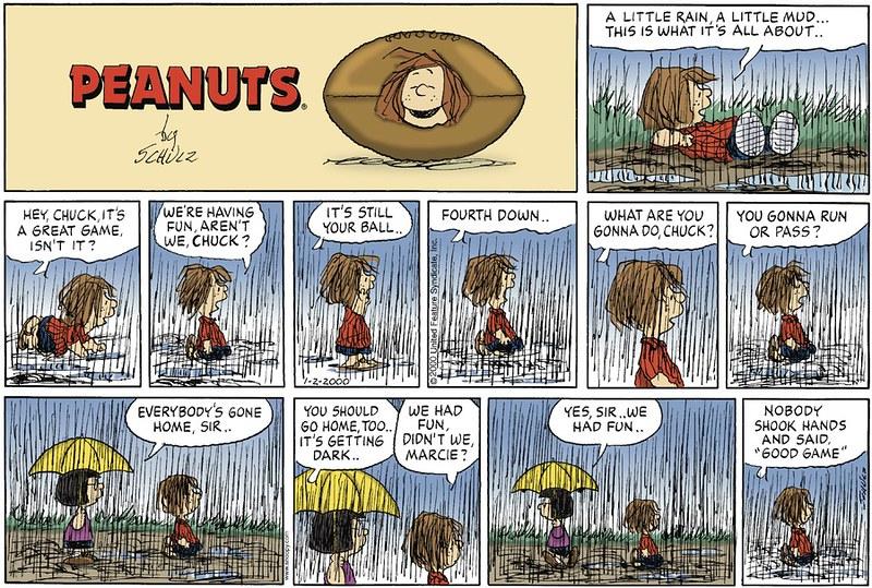 Peanuts Jan. 2, 2000