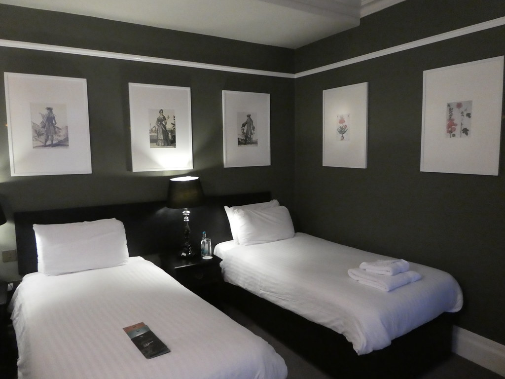 Room at The White Hart Hotel, Lincoln