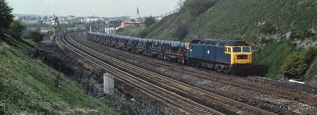 47346 Hasland near Chesterfield, Derbyshire. 23-04-81