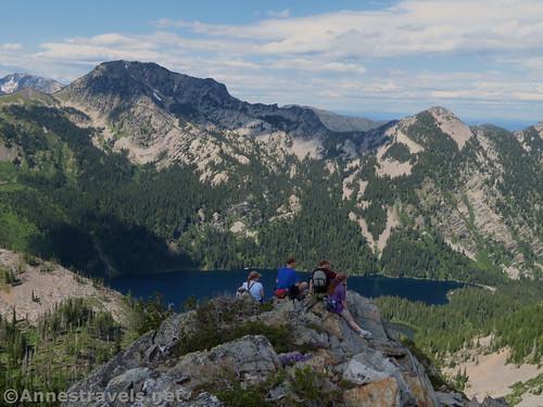 Atop Goat Peak, Cabinet Mountains Wilderness, Montana