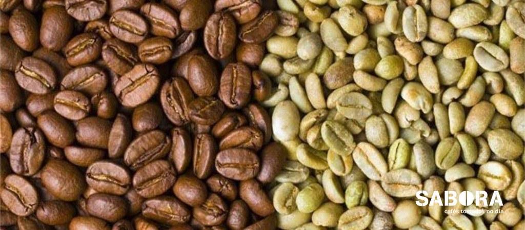 Café tostado versus café verde